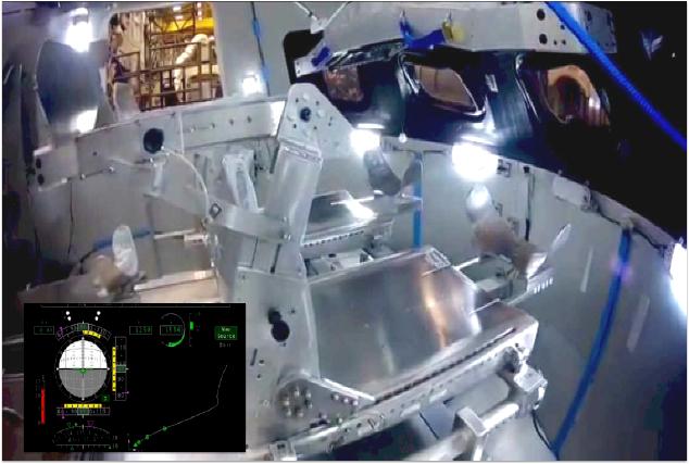 orion spacecraft cockpit - photo #9